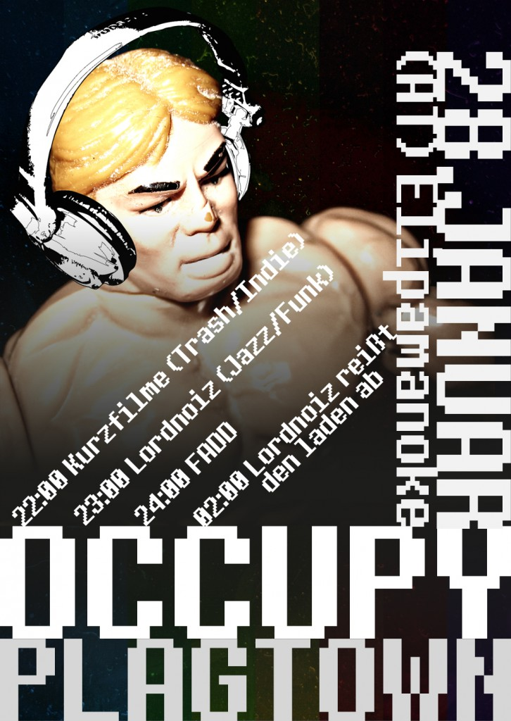 Occupy Plagtown - Flyer