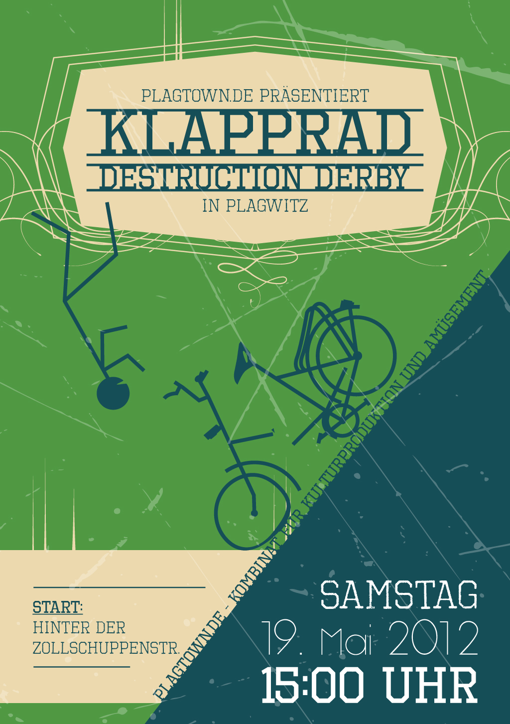 Flyer - Klapprad Destruction Derby