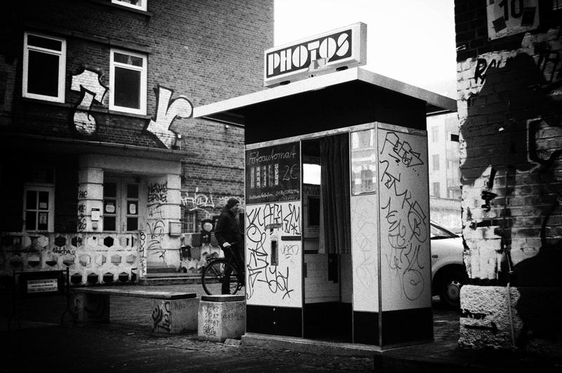 Photoautomat am Westwerk in Leipzig Plagwitz